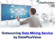 Outsourcing Data Mining Service by DataPlusValue
