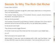 Secrets To Why The Rich Get Richer - Success Accounting Group