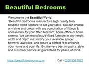 fitted furniture in south london