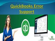 Take Our QuickBooks Error Support services