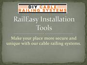 Stainless Steel Rail – DIY Cable Railing Systems