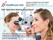 ENT Specialist Mailing List | ENT Specialist Email List | ENT List