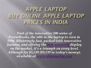 : Buy  apple laptops online price in india | price list |shipmychip