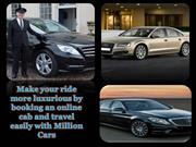 Make your ride more luxurious by booking an online cab and travel easi
