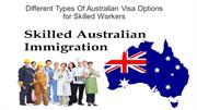 Types of skilled visa option available for australian visa