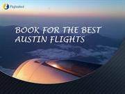 Best Flights Booking From Austin - Flights bird