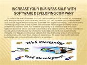Increase your business sale with Software developing company