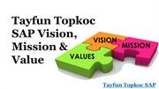 Tayfun Topkoc SAP Vision, Mission & Value of Bee'ah Group