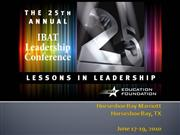2010 Leadership Conference
