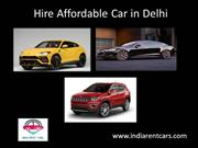India Rent Cars - Hire a Car in Delhi