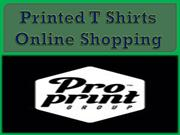 Printed T Shirts Online Shopping