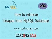how to retrieve images from MYSQL Database
