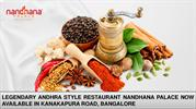 Nandhana Palace now Available in Kanakapura Road, Bangalore
