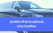 Qualities Of An Exceptional Limo Chauffeur