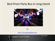 Best Prom Party Bus in Long Island