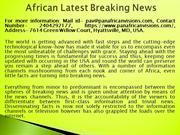 African Latest Breaking News