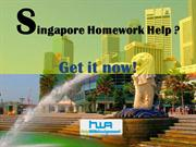 Need Singapore Assignment Help, Singapore Homework Help. Get it now!