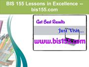 BIS 155 Lessons in Excellence / bis155.com