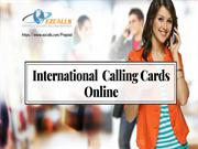 Buy Calling Cards Online – Available in Affordable Price