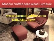 Modern crafted solid wood Furniture