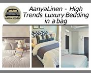 Amazing Luxury Bedding in a bag- by AanyaLinen | 25 % off