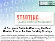 A Complete Guide to Choosing the Best Content Format for Link Building