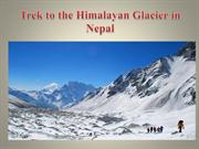 Trek to the Himalayan Glacier in Nepal