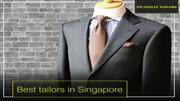 Trustworthy and Best Tailors in Singapore