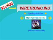 Electrical Resistance Wires For Wide Range Of Applications
