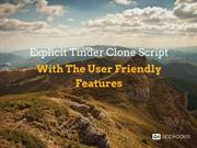 Tinder Clone Script With The User Friendly Features