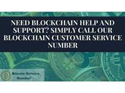 Blockchain support phone number