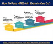 HP HPE6-A41 Questions Answers