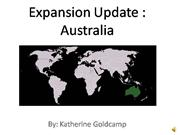 Expansion Update Aus