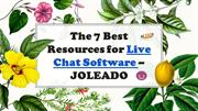 The 7 Best Resources For Live Chat Software - JOLEADO