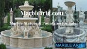 Marble water fountain -Marble-art