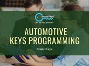 Different Ways of Programming Automotive Keys | Krazy Keys