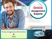 24*7 Online Assignment Help By Professional Australian Experts Writers