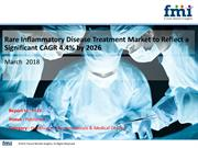 Rare Inflammatory Disease Treatment Market CAGR of 4.4 % by 2026