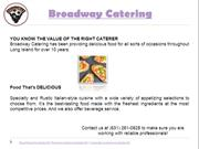 Event Catering Melville NY