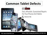 Common Tablet Defects