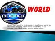 Buy RC Truck Wheels at the best market price from RC World