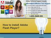 How to install Adobe Flash Player
