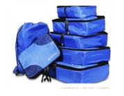 TRAVEL PACKING CUBES 7PC SET - SMART LIVING BY LAKE - HEALTHY LIFESTYL