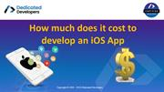 How much does it cost to develop an iOS App