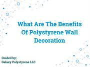 Polystyrene Wall Decoration | Galaxy Polystyrene