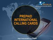 Buy International Calling cards Online – Affordable Price