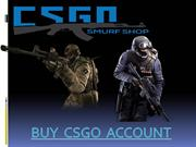 Buy CSGO Account at an affordable price