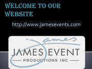 Top Corporate Event Production Company