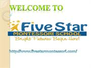 Preschool Short and Full Day Programs|Montessori Part Programs