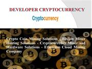 Crypto Coin Mining Solutions - Bitcoin Miner Hosting Solutions(2018)